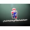 Lancia Flaminia PF Coupe logo PininFarina