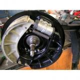 Lancia Aurelia overhauling front & rear brakes