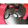 Rear wheels brake discs protection plates for Lancia Flavia