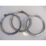 Lancia Aurelia / Flaminia dash-dials chrome rings