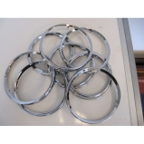 Lancia Flaminia Touring head lamp outer chrome rings