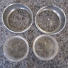 Front rings & lenses for direction & parking lights Lancia Flavia
