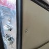 Lancia Flaminia Touring door panels rubber