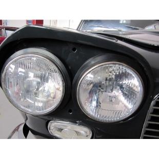 Lancia Flaminia / Flavia rubber head lamp surround rings