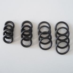 New rubber suspension seals for Lancia Flaminia